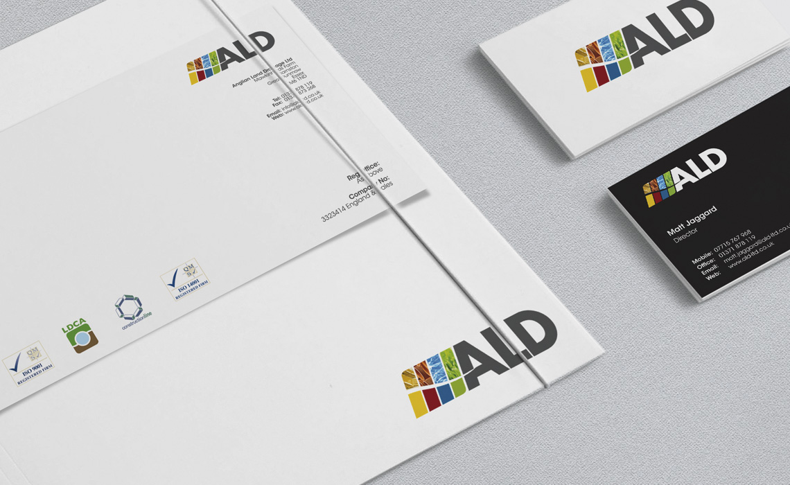 ALD Group - Branding, Website, Fleet Signs